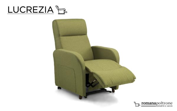 Poltrona Lucrezia relax alzapersona reclinabile